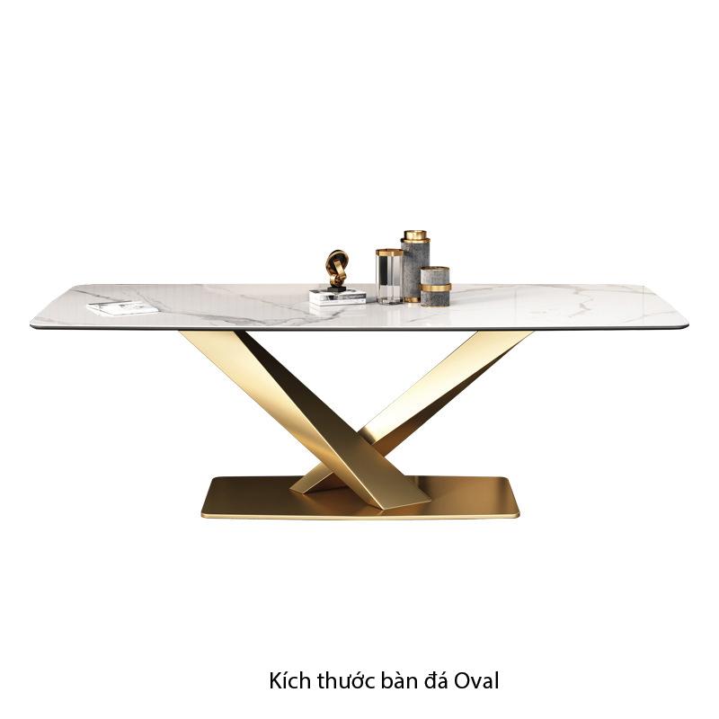 Kích thước Số đo tiêu chuẩn bàn oval