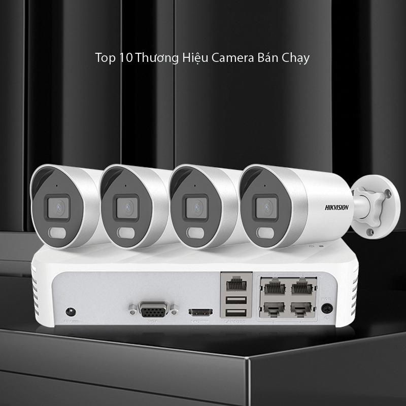 10 Thương hiệu camera An Ninh tốt bán chạy nhất hiện nay