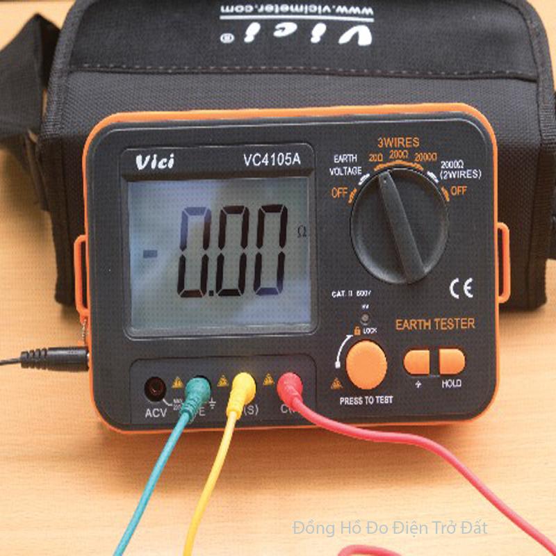 Phương pháp đo điện trở nối đất 3 điểm – 3P