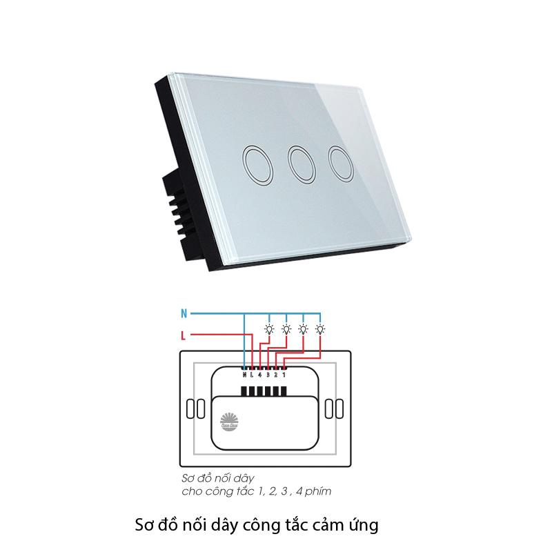 Bước 3 nối dây tín hiệu với thiết bị