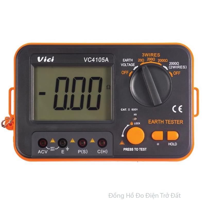 Các tính năng của đồng hồ đo trở đất